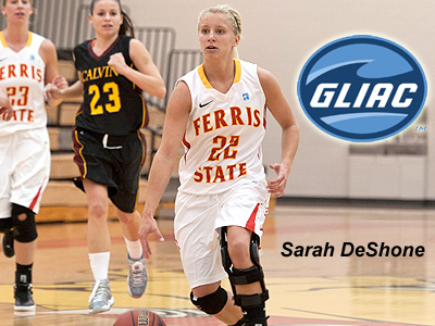 Sarah DeShone Honored With GLIAC Award