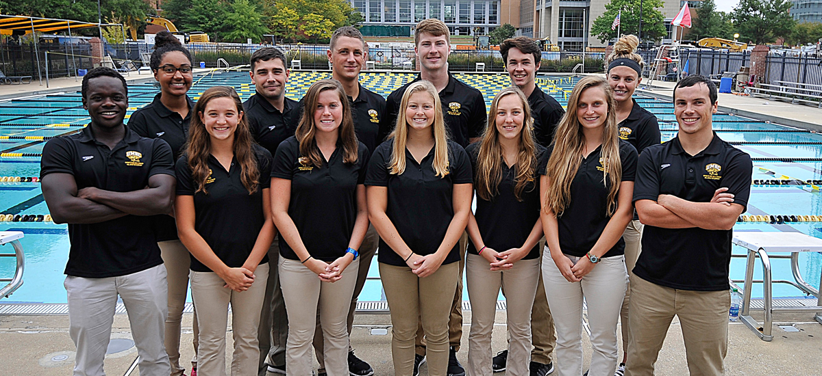 Swimming and Diving Honors 13 Seniors; Hosts VMI and ECU in Final Home Meet