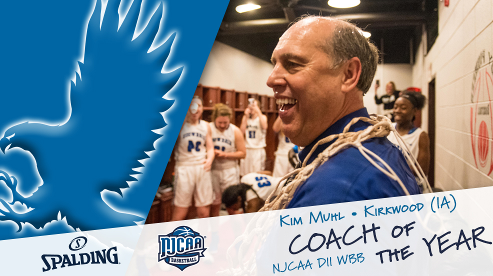 Muhl adds DII COTY honors to Hall of Fame resume