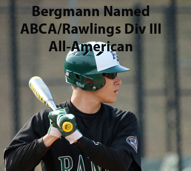 Bergmann Named ABCA/Rawlings Third Team All-American