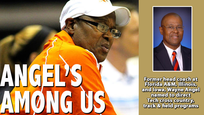 Wayne Angel named head coach of Tech cross country, track programs