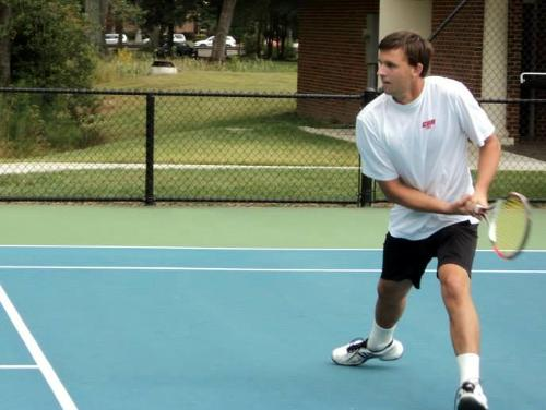 Men's Tennis Defeats Merchant Marine