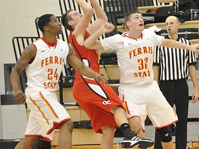 Ferris Men's Basketball Picks Up First Win