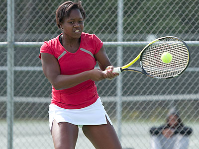 FSU's Tabitha Simpson was a double-winner versus Tiffin (FSU Photo Services)