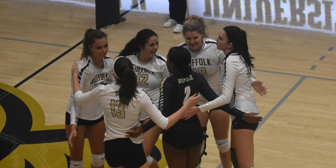 No. 17 Johnson & Wales Snaps Volleyball's Streak in Straight Sets