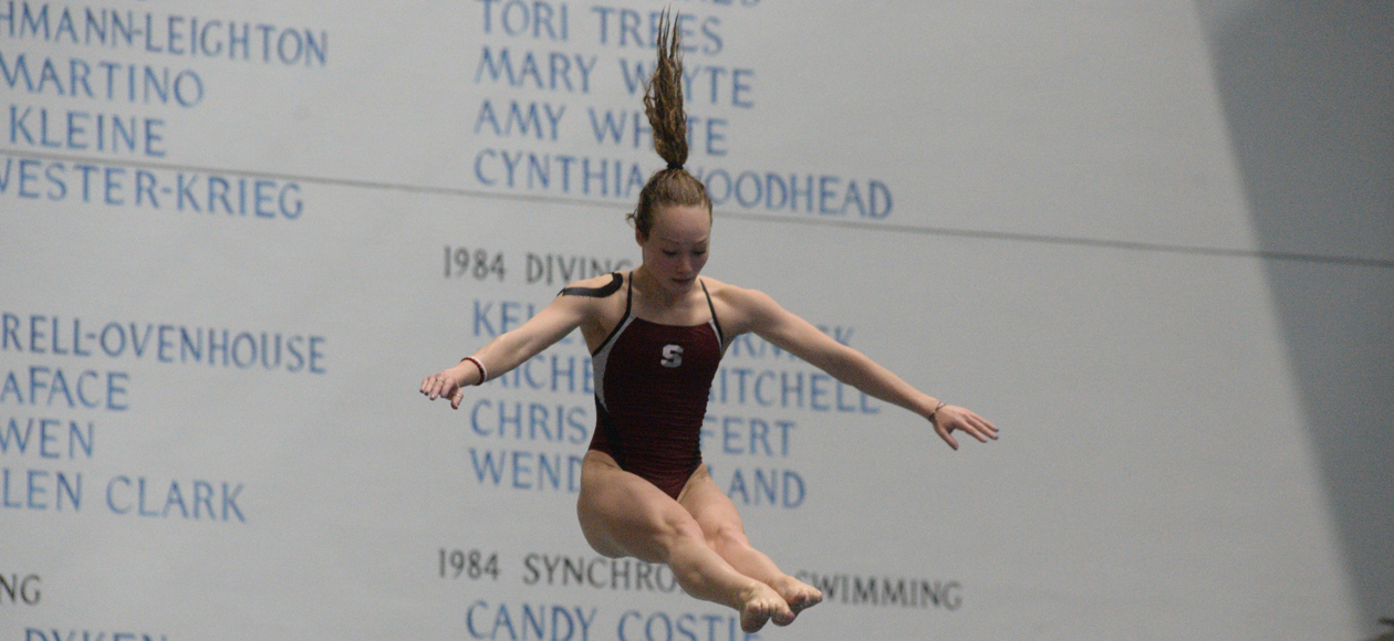 Skaza Earns All-America Honors On Three-Meter Board At NCAA Division III Championships