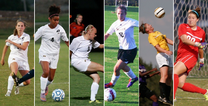 Six Pirates Earn All-SCAC Honors