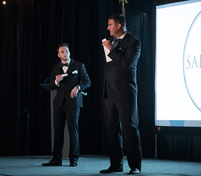 Saintspys Hosts - Michael Anderson and Reed VanOrsdel