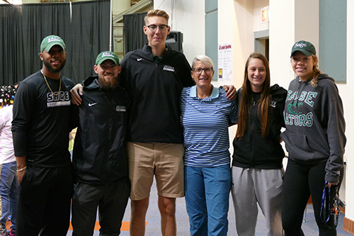 Sage student-athletes help with annual Shoe Box Project