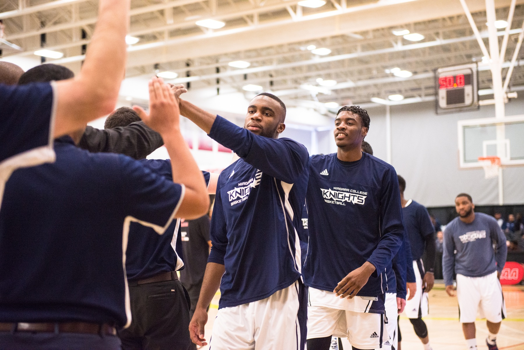 PREVIEW: Knights men's basketball set to face Huskies in OCAA Semi-Finals