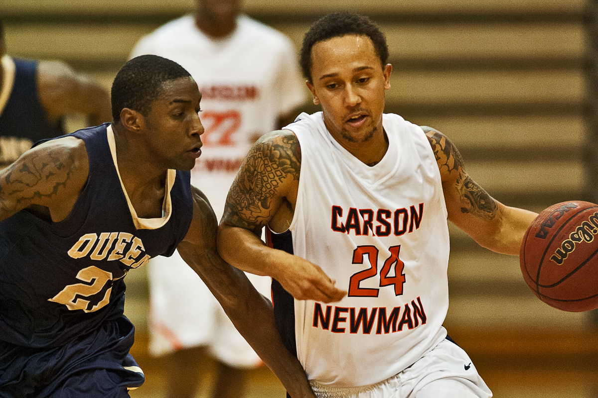 Sanders joins 1,000-point club as Carson-Newman dethrones Queens 90-55