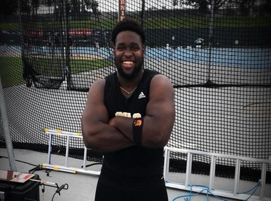 Opont Takes Shot Put Crown At USATF East Region Open