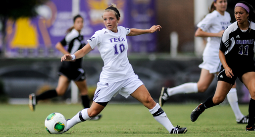 Tech soccer team tripped up late in 1-0 loss to NKU