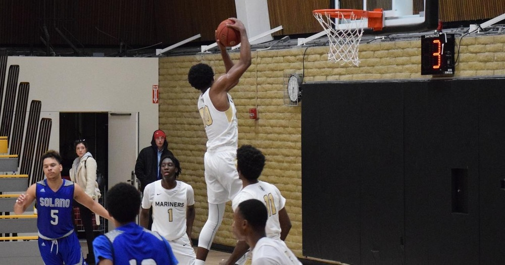 Mariners' Basketball Stormed By Napa Valley College 75-65