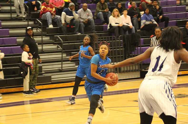 Fighting Owls' Daisa Harris Awarded NJCAA Player of the Week