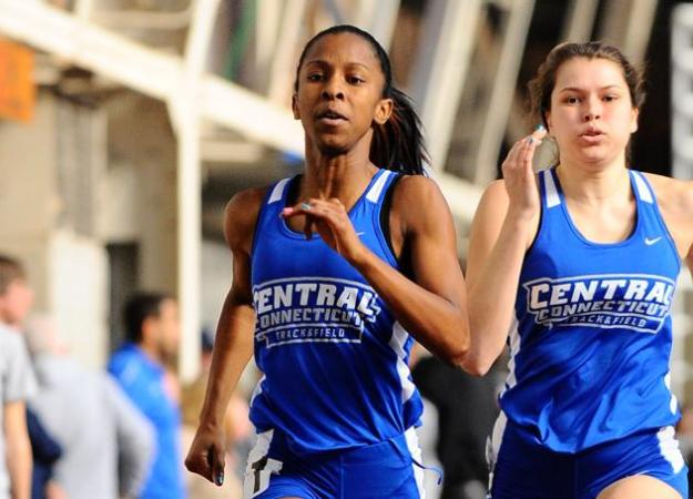 Women's Track & Field 9th at URI Invite