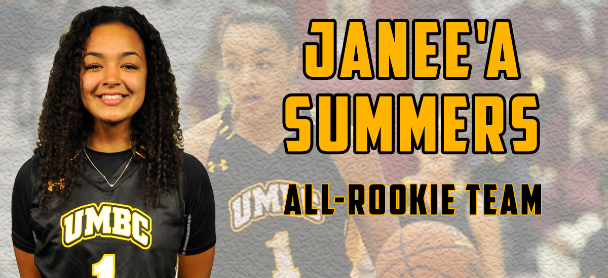 Summers Named to America East All-Rookie Team