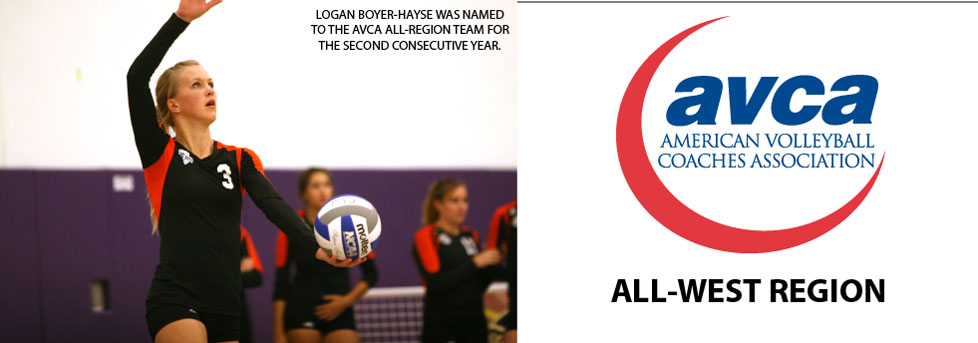 BOYER-HAYSE EARNS SECOND ALL-REGION SELECTION