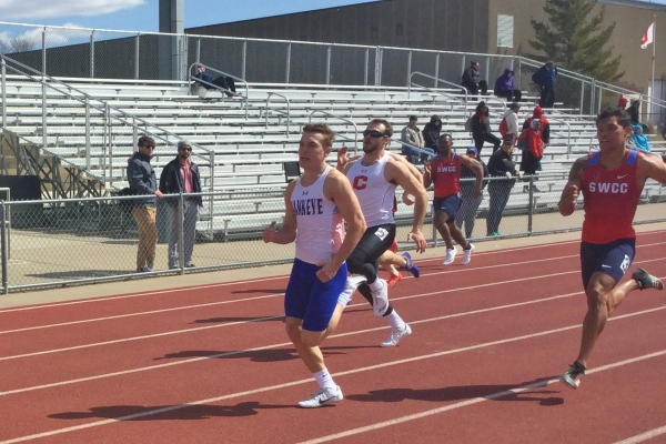 Men's Track and Fields Takes 2nd at Mustang Open