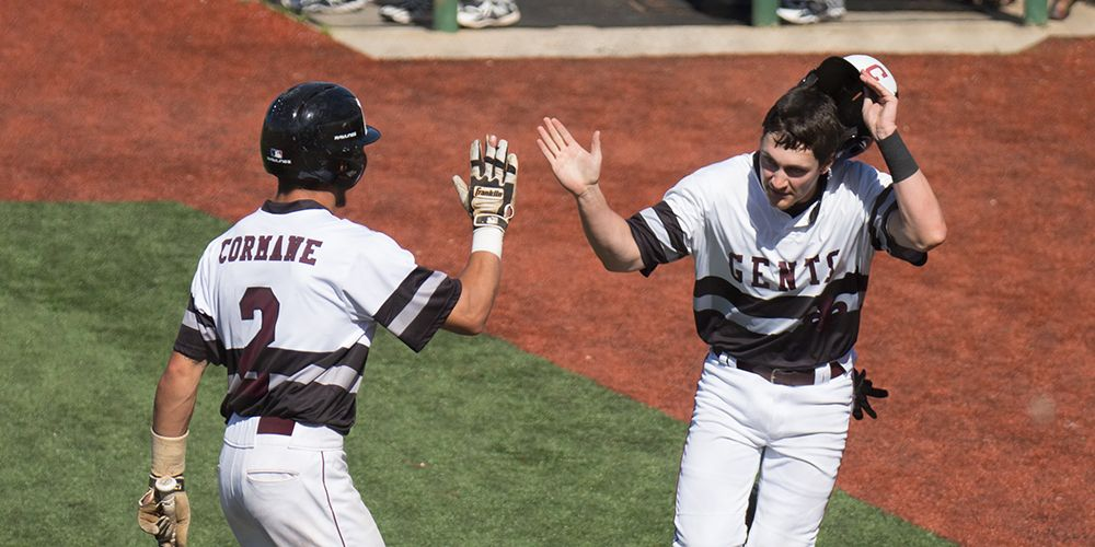 Centenary Baseball Splits Double Header with Trinity, Forces Sunday SCAC Decider