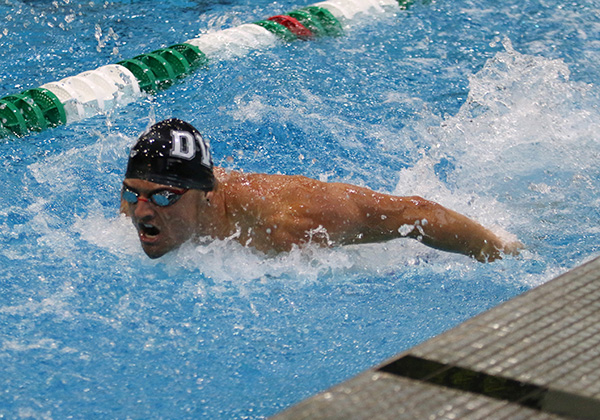 After day one, Men in 1st & Women in 2nd at CCCAA Swim Championships