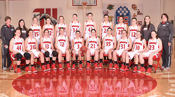 2015-16 Wittenberg Women's Basketball