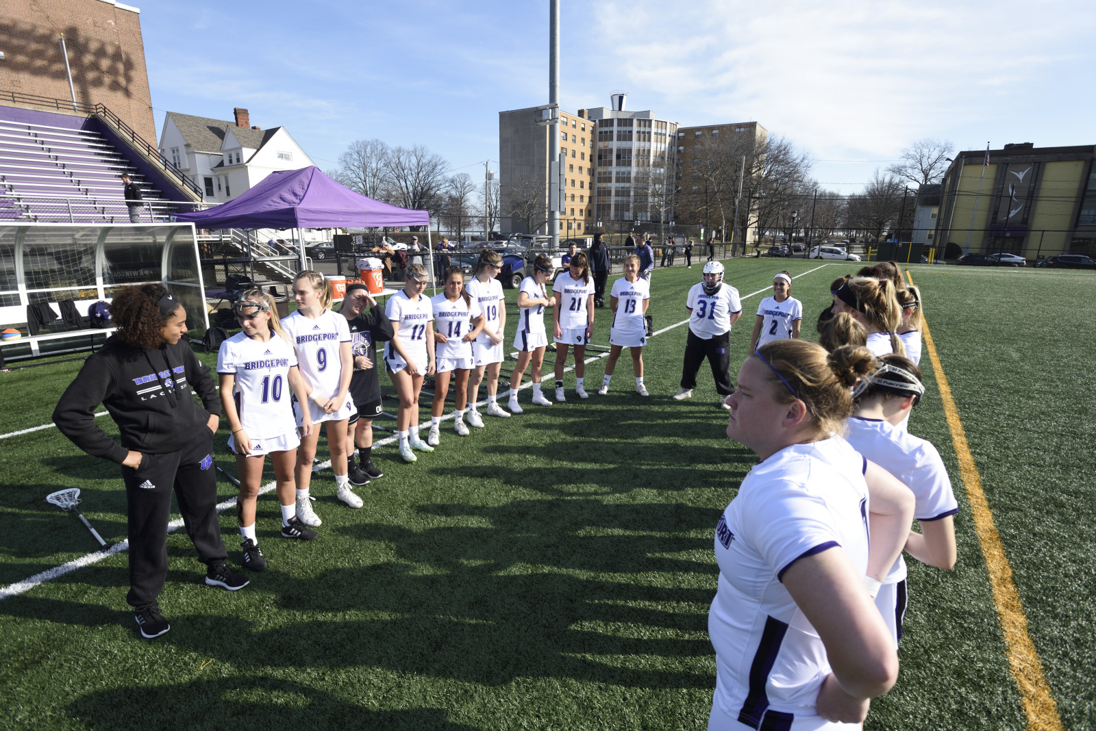 Women's Lacrosse Sees Win Streak Snapped By St. Thomas Aquinas