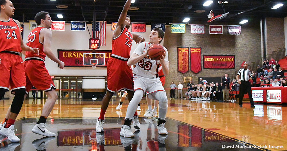 Dickinson Ekes Past Men's Basketball