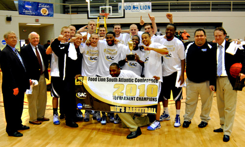 The 2010 Food Lion South Atlantic Conference Champions