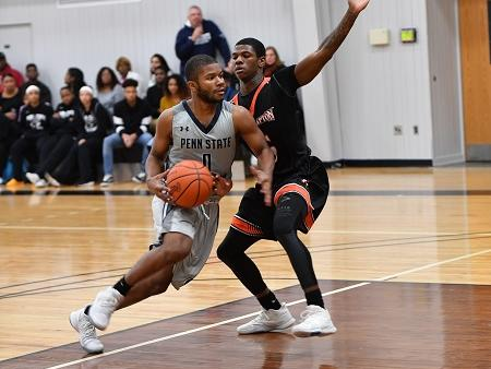 Men's Basketball Downed By PSU York, 91-85.
