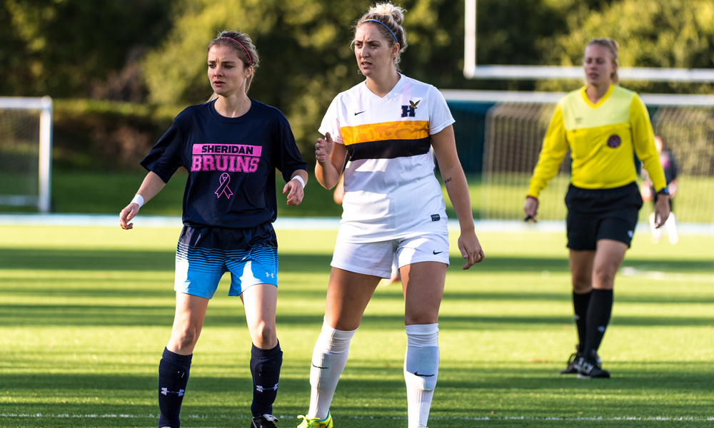 Women's soccer falls to Humber in regular season finale