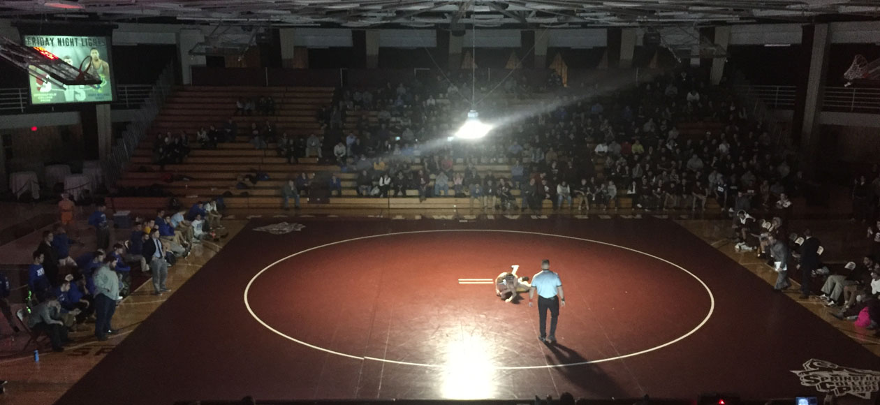No. 5 Roger Williams Rallies Past Wrestling, 21-16, In Friday Night Lights Showdown