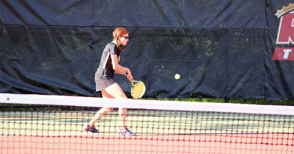 Sollecito Wins at No. 1 in Women's Tennis' Loss at Endicott