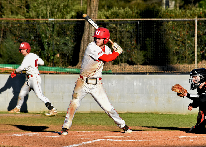 Will Cosby was 4-for-5 with two RBIs, a run and a double in Sunday's 6-5 loss to Emory.