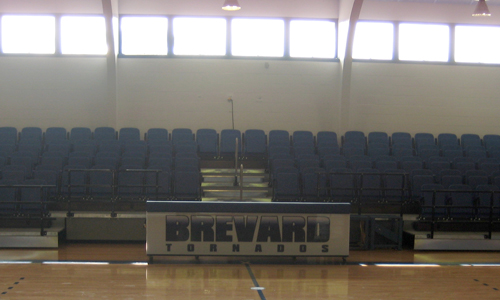 Boshamer Gymnasium has been revamped due to the help of the Tornado Club.