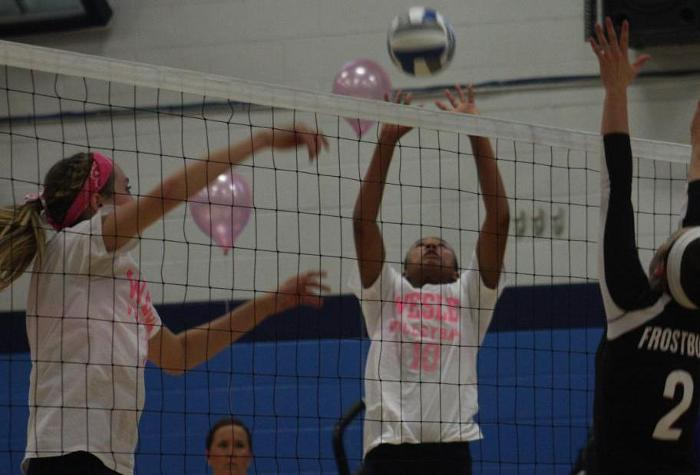 Volleyball Drops CAC Finale to St. Mary's