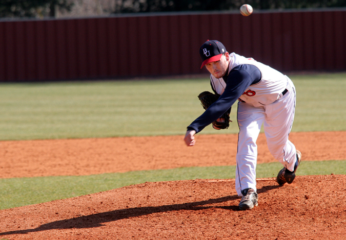 Baseball Tops Mercer 2-1 In A-Sun Opener