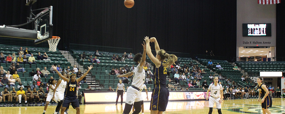 Cobras Fall to UNC-Charlotte in Exhibition Contest