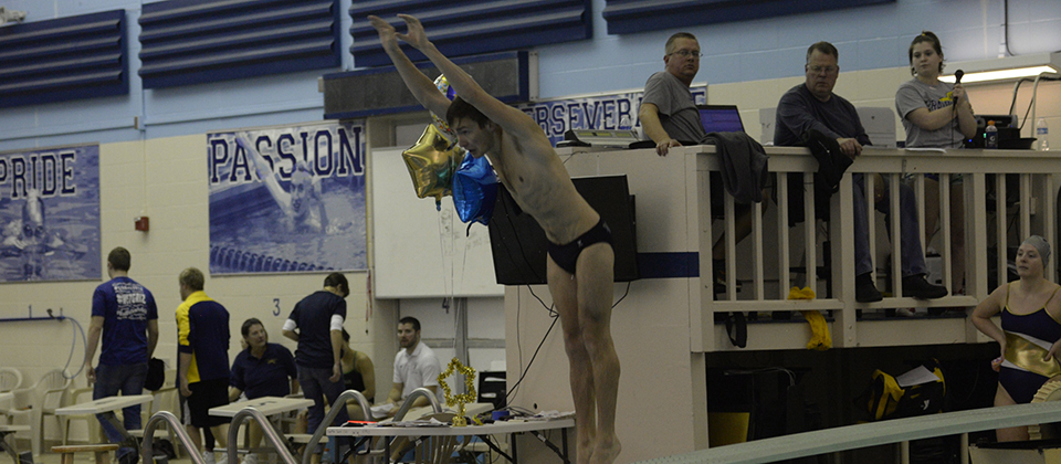 RECAP | Grizzly Divers Take Part in NCAA Diving Regionals