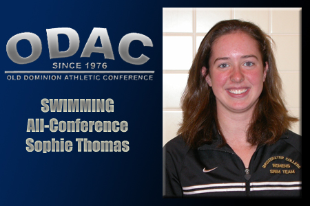Thomas Garners ODAC Honorable Mention Selection