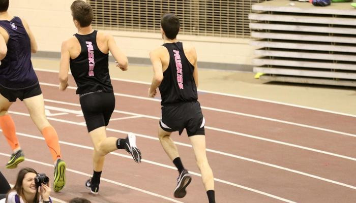 Men's Indoor Track & Field captures second place at Ohio Wesleyan