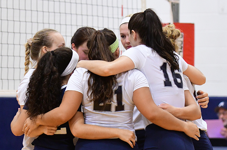 Women's Volleyball: Raiders season ends in GNAC Championship Game