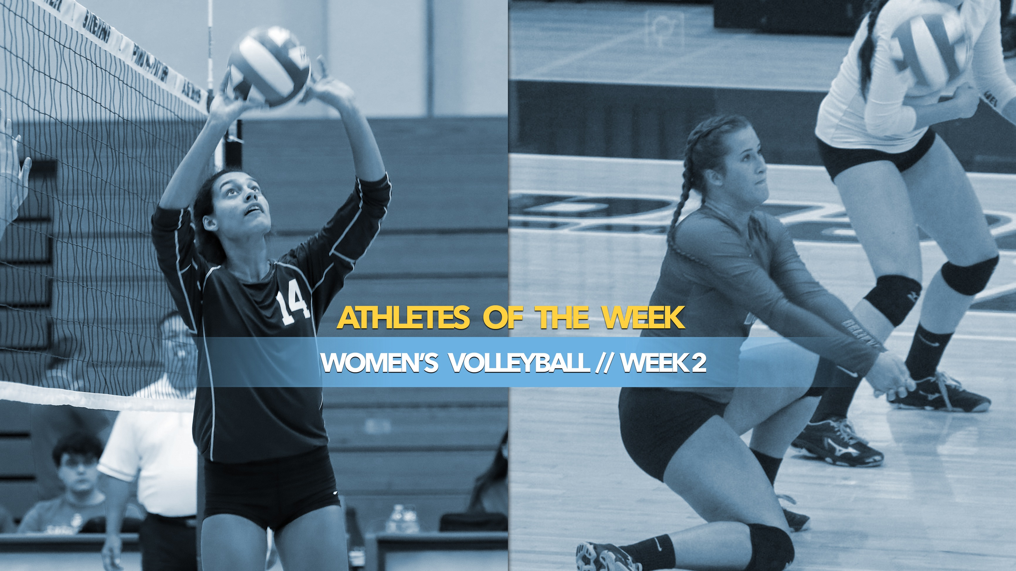 Women's Volleyball Athletes of the Week: September 9, 2019