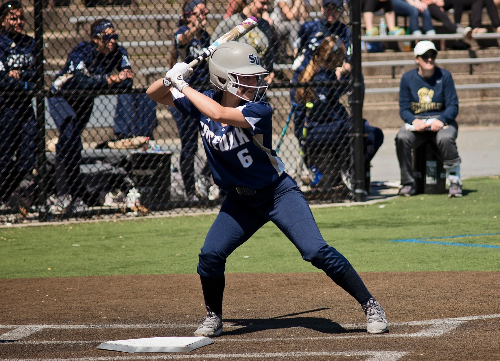 Softball Wins 10th Straight, Defeat USJ, 10-4