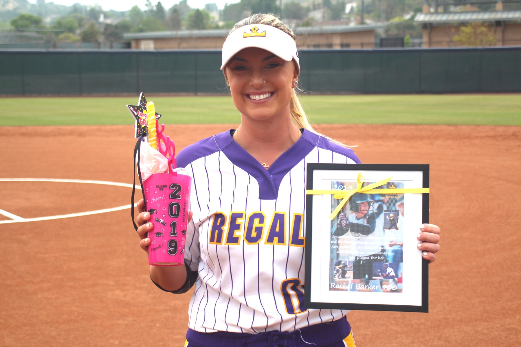 Regals' Heroics on Senior Day; Softball Ends Season with Doublerheader Sweep of Tigers