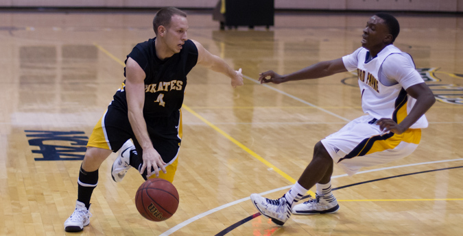 Men's Basketball Falls to Centenary