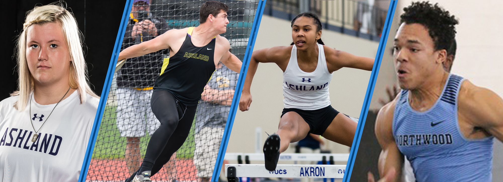 Indoor Track and Field Week 1 Athletes of the Week