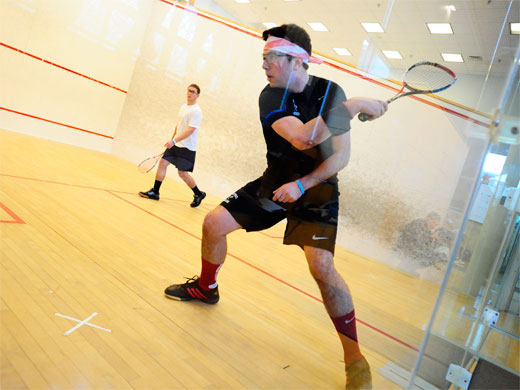 Upset-minded men's squash falls to #22 Conn. College