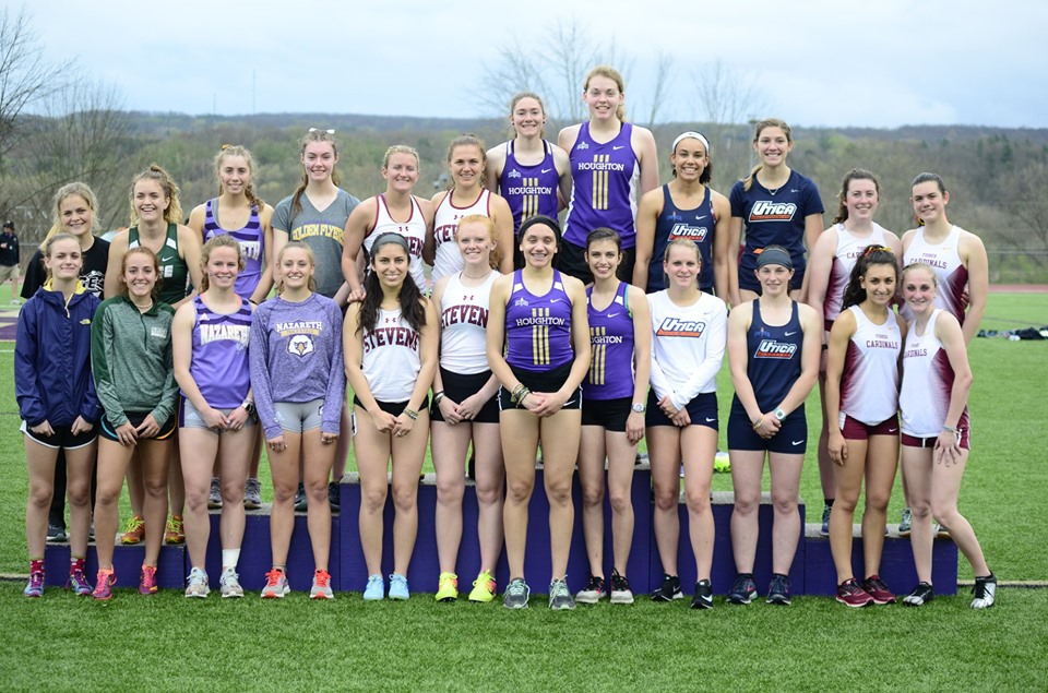 Sage women set school mark on opening day of E8 Championship in 4 x 800 relay