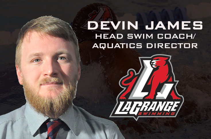 Swimming: Devin James named new head coach and Aquatics Director